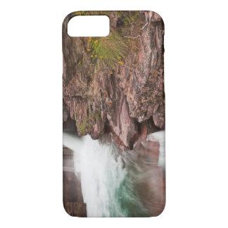 グレーシャー国立公園のSt Maryの滝 iPhone 8/7ケース