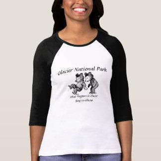 グレーシャー国立公園のTシャツ Tシャツ