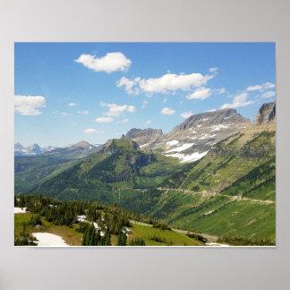 グレーシャー国立公園 ポスター