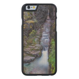 グレーシャー国立公園、モンタナのSunriftの峡谷 ケース