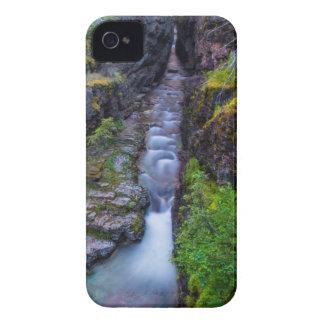 グレーシャー国立公園、モンタナのSunriftの峡谷 Case-Mate iPhone 4 ケース