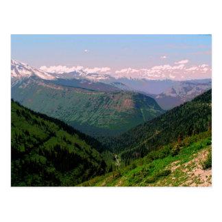 グレーシャー国立公園-ローガンのパス ポストカード