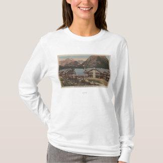グレーシャー国立公園、多くのMT -氷河ホテル Tシャツ