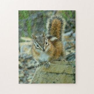 グレーシャー国立公園Iのシマリス ジグソーパズル