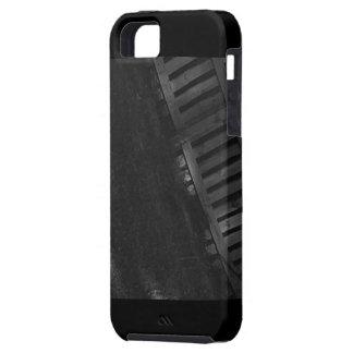 グレースケールのヤードのiPhoneの場合(iPhone 5S) iPhone SE/5/5s ケース