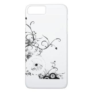 グレースケールの茎 iPhone 8 PLUS/7 PLUSケース