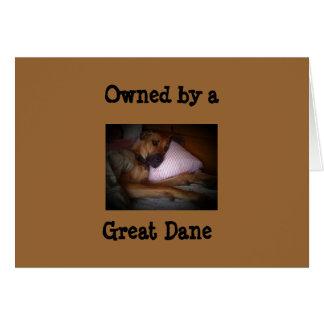 グレートデーンによって所有される カード