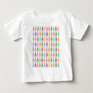 グレートデーンのイラストレーション ベビーTシャツ