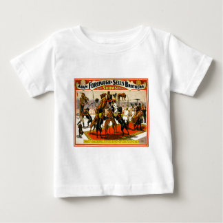 グレートデーンのサーカスショー ベビーTシャツ
