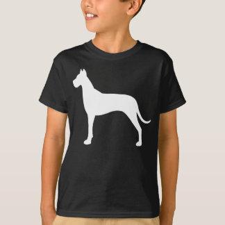 グレートデーンのシルエット Tシャツ