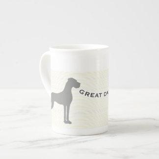 グレートデーンのマグ ティーカップ