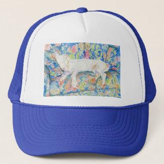 グレートデーンの子犬のソエ2の帽子 キャップ