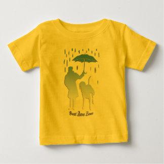 グレートデーンの恋人 ベビーTシャツ