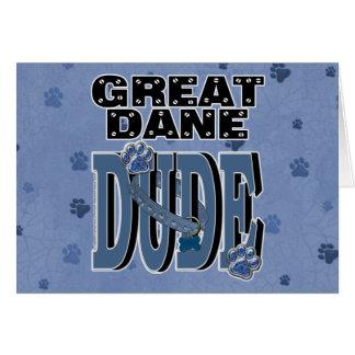 グレートデーンの男 カード