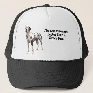 グレートデーンの道化師の帽子 キャップ