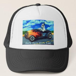 グレートデーンのHarlの帽子 キャップ