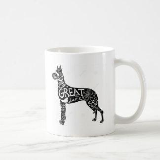 グレートデーンは素晴らしいです! コーヒーマグカップ