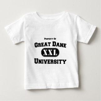 グレートデーン大学の特性 ベビーTシャツ