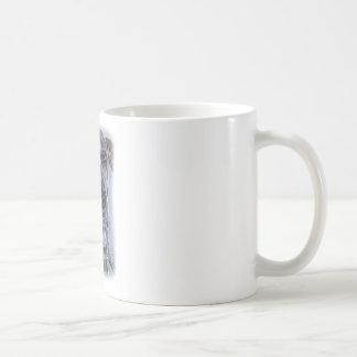 グレートデーン犬のスケッチのデザイン コーヒーマグカップ