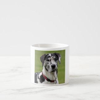グレートデーン犬の道化師の美しい写真、ギフト エスプレッソカップ