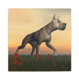 グレートデーン犬 ウッドコースター