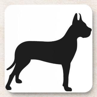 グレートデーン犬 コースター