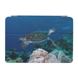 グレート・バリア・リーフのHawksbillのウミガメ iPad Miniカバー