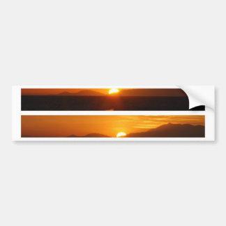 グレート・バリア・リーフオーストラリアの日没 バンパーステッカー