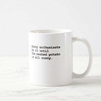 グレービーのほのめかしのマグ コーヒーマグカップ