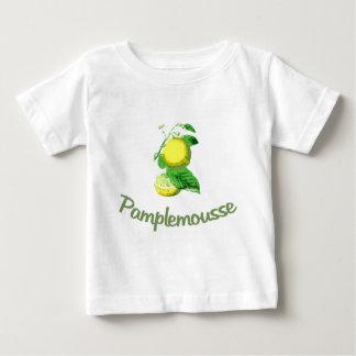 グレープフルーツのためのPamplemousseのフランス語 ベビーTシャツ