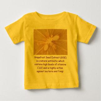 グレープフルーツの乳児のワイシャツ ベビーTシャツ