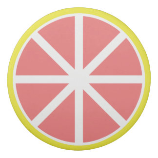 グレープフルーツの切れの消す物 消しゴム