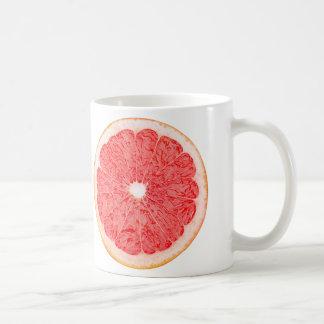 グレープフルーツの切れ コーヒーマグカップ