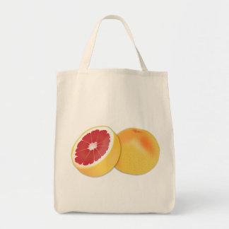 グレープフルーツの食料雑貨のトートバック トートバッグ