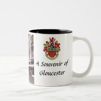 グロスターの記念品のマグ ツートーンマグカップ