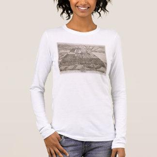 グロスターのengraの郡のバドミントンの家 tシャツ
