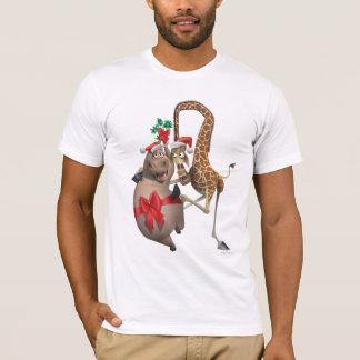 グロリアおよびMelmanの休日 Tシャツ
