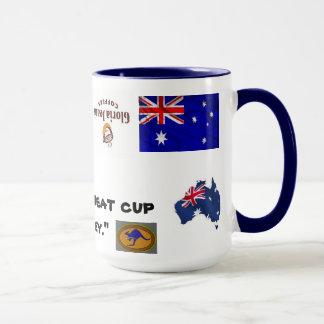グロリアのジーンズオーストラリア マグカップ