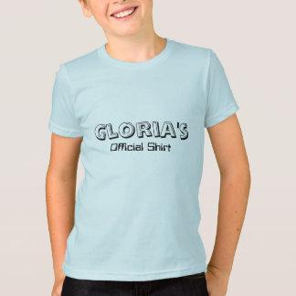 グロリアの公式のワイシャツ Tシャツ