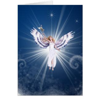 グロリアの天使のクリスマスカード カード