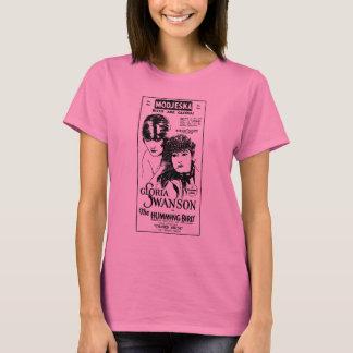 グロリアSwansonのぶんぶんいう鳥のTシャツ Tシャツ