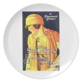 グロリアSwansonの青ひげの第8妻1923のフィルム プレート