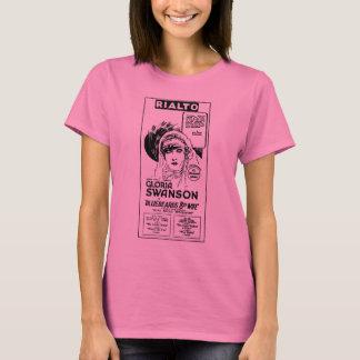 グロリアSwansonの青ひげの第8妻1924年 Tシャツ