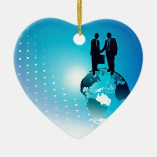 グローバル・ビジネスの背景 セラミックオーナメント