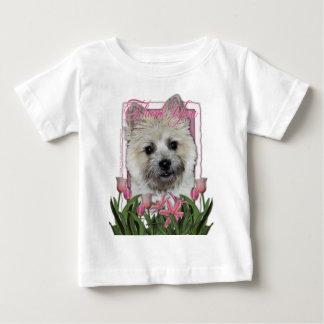 -ケアーン・テリア- Teddy_Bearありがとう ベビーTシャツ