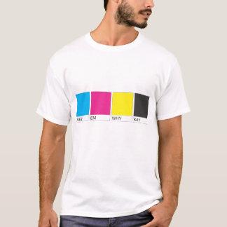 ケイがなぜ欠けるかemを見て下さい tシャツ