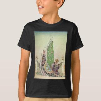 ケイニールセンのプリンセスおよび庭師 Tシャツ