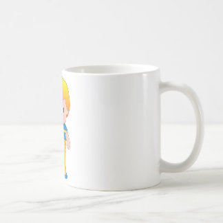 ケシのスウェーデンの男の子 コーヒーマグカップ