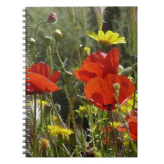 ケシの分野 ノートブック