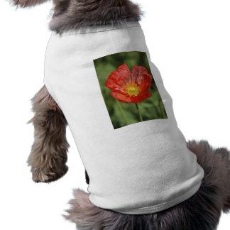 ケシの花および意味 ペット服